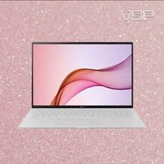 뷰에스피 LG그램 17인치 2021 17Z90P 17ZD90P 핑크 전신외부필름