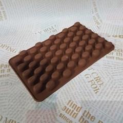 기본형 초콜릿 양갱 라운드 몰드 1개