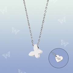 BUTTERFLY NECKLACE (SMALL)