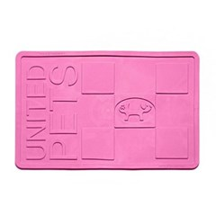 애견 식사 욕실 미끄럼 방지 논슬립 매트 미디움 핑크