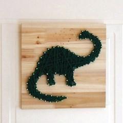 스트링아트 공룡 DIY 키트 (30x30cm)