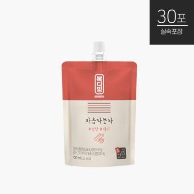 [자연원] 복다방 마음따뜻차 100ml(30포입) x 1박스/총30포