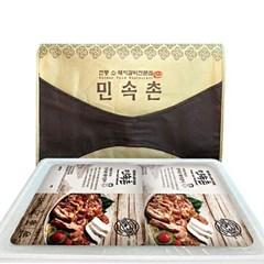 [남도장터]박규완 명인 민속촌 돼지갈비 1.5kg x 2팩