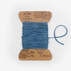 블루 매듭끈