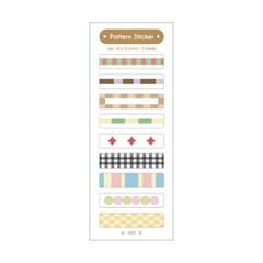 패턴스티커(투명) / Pattern Sticker(clear)