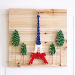 스트링아트 에펠탑 DIY 키트 (30x30cm)