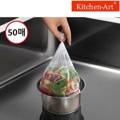 키친아트 음식물거름망 50매 싱크대 개수대 배수구 음식_(609522)