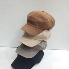 무지 기본 챙넓은 꾸안꾸 패션 헌팅캡 마도로스 모자
