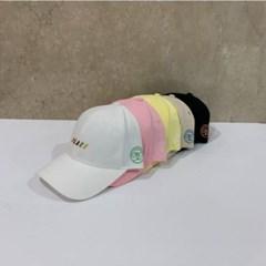 핑크 챙넓은 영문 꾸안꾸 데일리 패션 볼캡 야구모자