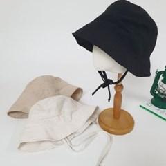 턱끈 기본 데일리 패션 보넷 버킷햇 벙거지 모자