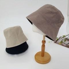 무지 기본 심플 대두 깊은 패션 버킷햇 벙거지 모자
