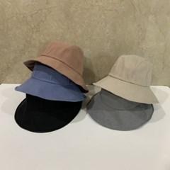 기본 무지 데일리 꾸안꾸 패션 버킷햇 벙거지 모자