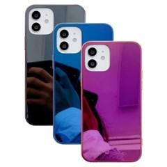 아이폰8플러스 심플 글라스 미러 하드 케이스 P580_(3672820)