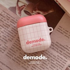 [demode] Salmon pink Airpods case