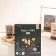 펫푸드궁 동결건조 자연식 닭가슴살 CAT 기호성테스트 (