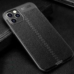 아이폰12프로맥스 클래식 레더 커버 가드 케이스