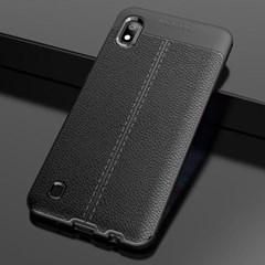 갤럭시A71(해외판) 클래식 레더 커버 가드 케이스