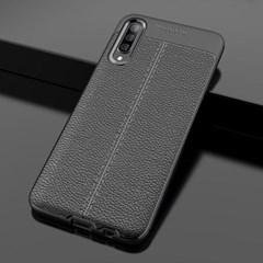 갤럭시A51(해외판) 클래식 레더 커버 가드 케이스