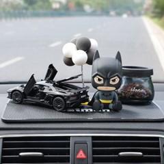 차량용 배트맨피규어 방향제 블랙람보르기니 장식소품