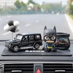 차량용 배트맨피규어 방향제 블랙 빅G 장식소품 차량내