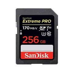 샌디스크 신형 익스트림 프로 SD카드 170MB/s 256GB