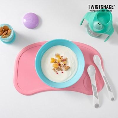 트위스트쉐이크 흡착식판 미니+그릇 2종(볼+플레이트)