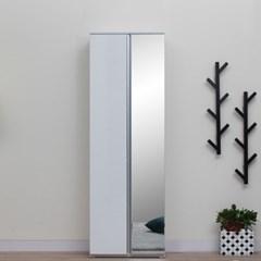 [스코나베이직]레모스 600 대형 거울 수납 신발장_(602858005)