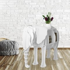 DIY 코끼리 동물모형 선반 책장 인테리어 진열선반