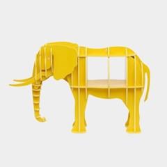 DIY 코끼리 동물모형 선반 책장 책진열장