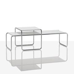 디자인 스틸 테이블 MR135 스몰/라미네이트 상판