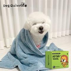 독키호테 초극세사 강아지수건 강아지가운 강아지타올 M,XL