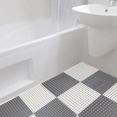 미끄럼방지매트 욕실발판 바닥깔판 건식욕실매트 고무_(1822233)
