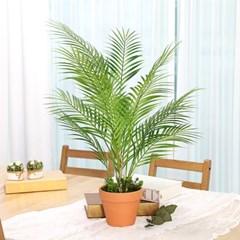 인테리어 인조나무 조화 화분 토분 아레카야자 70cm_(2385981)