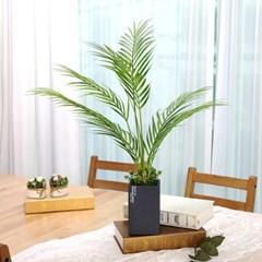 인테리어 인조나무 조화 테라조화분 아레카야자 60cm_(2385977)
