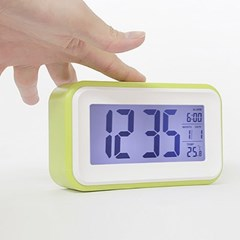 LED 탁상시계 달력 온도계기능 알람시계