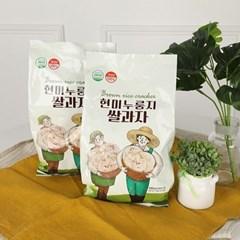 [남도장터]쌍지뜰 현미 누룽지 쌀과자 100gx3
