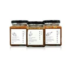[지리솥] 수제 땡초비빔장 3종 세트 (땡초+황태+우렁)