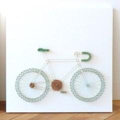 스트링아트 자전거 DIY 키트 (40x40cm)