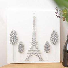 스트링아트 에펠탑 DIY 키트 (40x40cm)