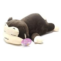 정품 대형 꿀잠 원숭이 모찌 쿠션 봉제인형 45cm