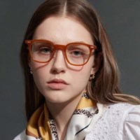 RECLOW E493 SOFT BROWN GLASS 안경