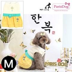 패리스독 걸즈한복 옐로우 M