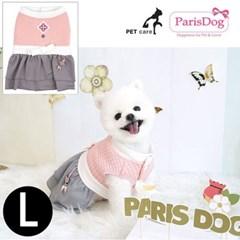 패리스독 걸즈한복 핑크 L