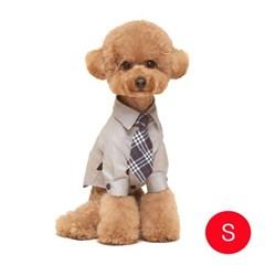 강아지 메리미 셔츠 그레이 S