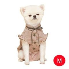 강아지 메리미 블라우스 베이지 M