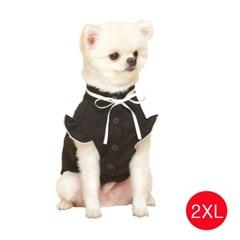 강아지 메리미 블라우스 블랙 2XL