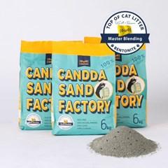 캔따 마스터블랜딩 6kg x 3개 먼지없고, 사막화 적은 벤토나이트