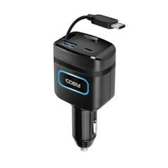 자동감김 차량용 C타입 급속충전기 PD 퀵차지 CGR4022AT