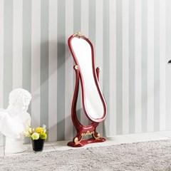 수입 엔틱가구 RG 22 스텐드 스텐드형 레드 전신 거울