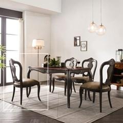 수입 엔틱가구 RG 22 프리미엄 그레이 식탁 의자